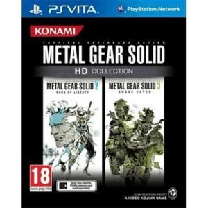 Konami metal gear solid hd collection ps vita