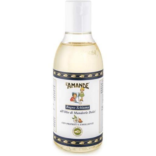 L'Amande Bagno Schiuma all'Olio di Mandorle Dolci 250ml