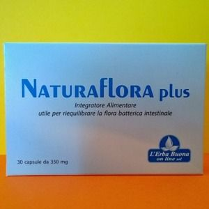 L'erba Buona on line Naturaflora Plus 30capsule