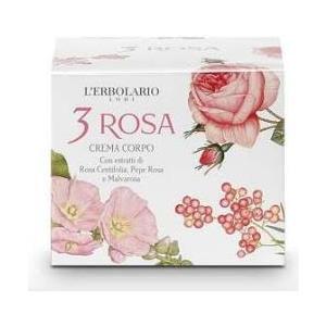 L'Erbolario 3 Rosa Crema Corpo 200ml