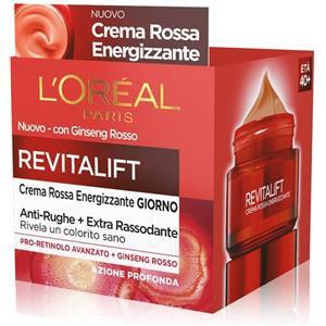 L'Oréal Revitalift Crema Rossa Energizzante Giorno 50ml