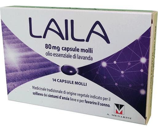 Schwabe Pharma Laila 80mg 14 capsule molli
