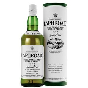 Laphroaig whisky 10 year old