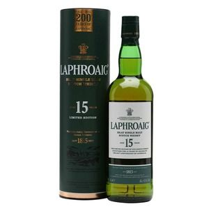Laphroaig Whisky 15 year old