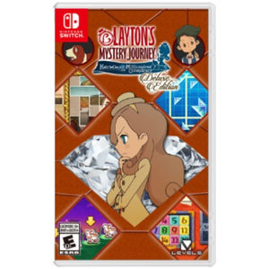 Level-5 Layton's Mystery Journey: Katrielle and the Millionaires' Conspiracy - Deluxe Edition