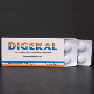 Leader natural Pharma Digeral 20compresse