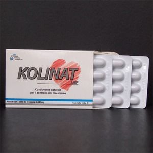Leader natural Pharma Kolinat 30compresse