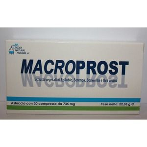 Leader natural Pharma Macroprost 30compresse