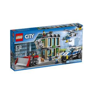 Lego city 60140 rapina con il bulldozer