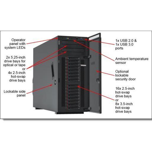 Lenovo Thinksystem ST550 (7X10A0D4EA)