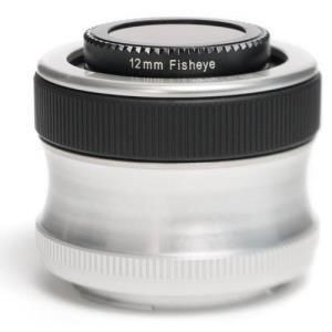 Lensbaby Scout with Fisheye - Four Thirds
