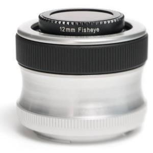 Lensbaby Scout with Fisheye - Pentax K