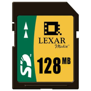 Lexar SD 128 MB