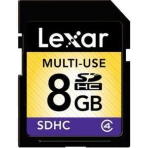 Lexar SDHC 8 GB Class 4