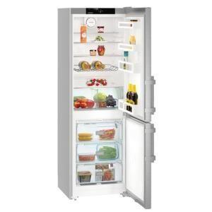 Liebherr CNef 3515 Comfort NoFrost Libera installazione 308L A+ Argento frigorifero con congelatore