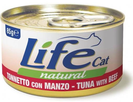 Life Pet Care Life Cat Natural (Tonnetto con Manzo) - umido