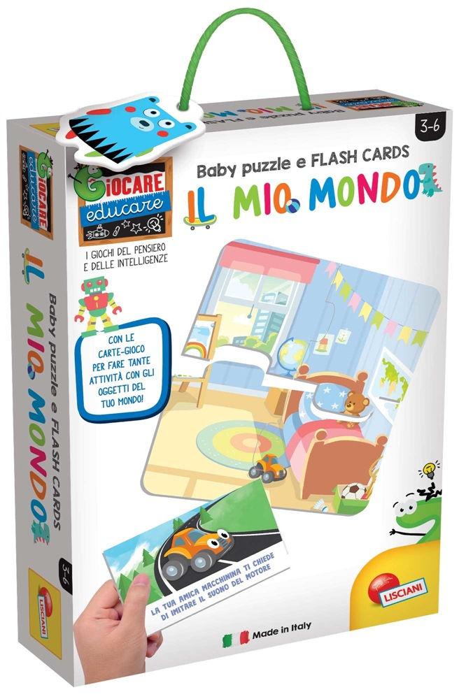 Lisciani Baby Puzzle + Flash Cards