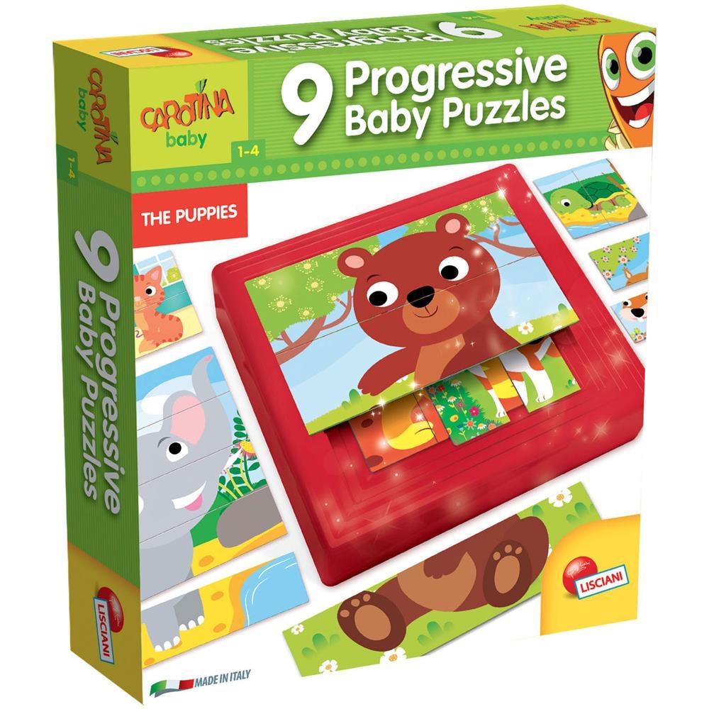 Lisciani Carotina Baby Puzzle Progressive