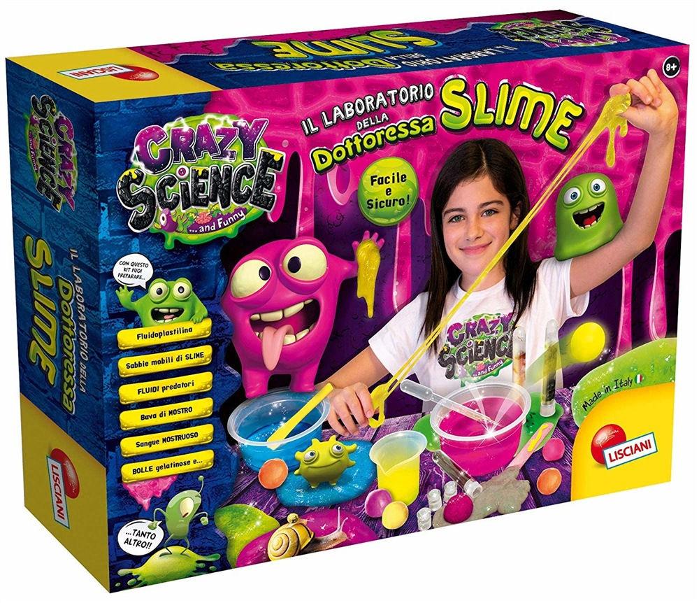 Lisciani Crazy Science - Il Laboratorio della Dottoressa Slime
