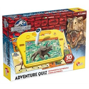 Lisciani Jurassic World penna quiz superdesk