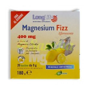 LongLife Magnesium Fizz 20bustine