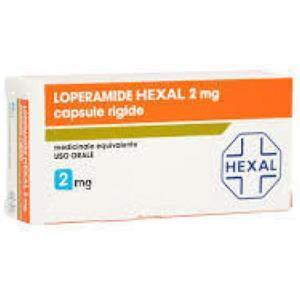 Sandoz Loperamide hexal 15 capsule 2mg