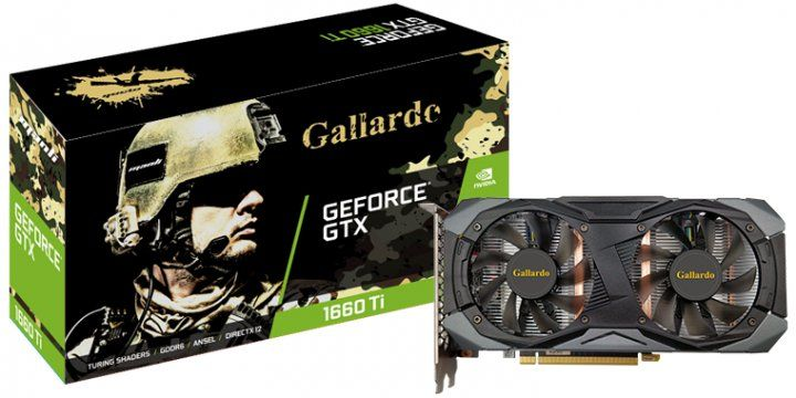 Manli GeForce GTX 1660 Ti Gallardo 6GB