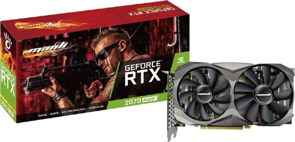Manli Geforce RTX 2070 SUPER 8GB Twin Cooler