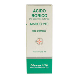 Marco Viti Acido Borico 3% 200 ml