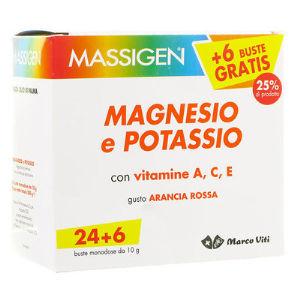 Marco Viti Massigen Magnesio e Potassio 24+6bustine