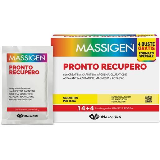 Marco Viti Massigen Pronto Recupero 14+4bustine