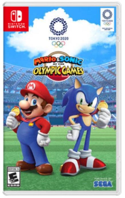 mario and sonic ai giochi olimpici di tokyo 2020 switch