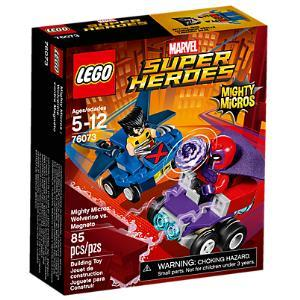 Lego Marvel Super Heroes 76073 Mighty Micros: Wolverine contro Magneto