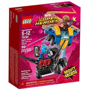 Lego Marvel Super Heroes 76090 Mighty Micros: Star-Lord contro Nebula