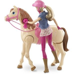 Mattel barbie a cavallo