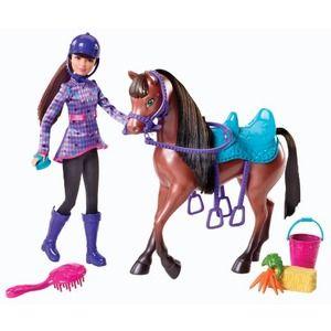 Mattel barbie skipper e il suo cavallo y7563