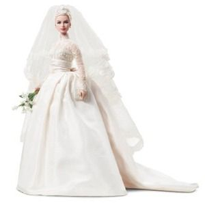 Mattel Grace Kelly Sposa T7942