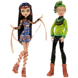 Mattel monster high boo york comet crossed couple