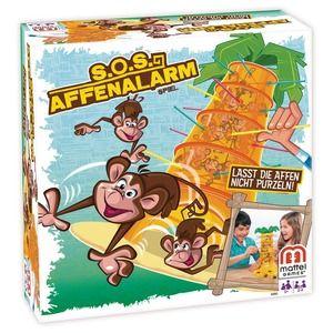 Mattel Salva le Scimmie Gioco da Tavolo