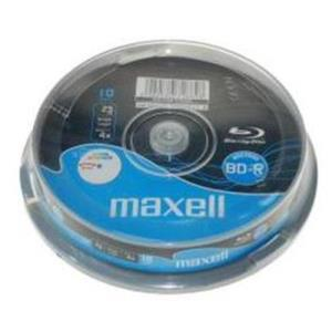 Maxell BD-R 25 GB 4x Printable (10 pcs)