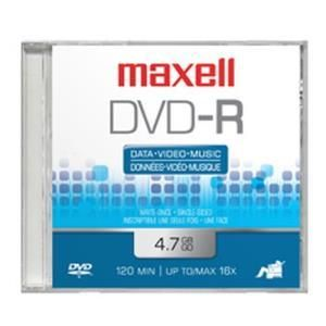 Maxell DVD-R 4.7 GB 16x (25 pcs cakebox)