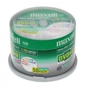 Maxell DVD-R 4,7 GB (50 pcs cakebox) Printable