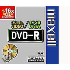 Maxell DVD-R 4.7 GB 8x (10 pcs slim)