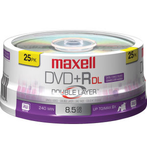 maxell dvdpr dl 8 5 gb