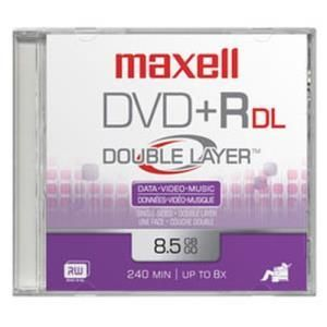 Maxell DVD+R DL 8.5 GB Printable