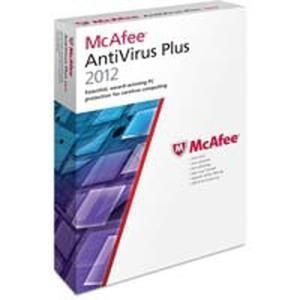 Mcafee AntiVirus Plus 2012 (3 PC) (Upgrade)