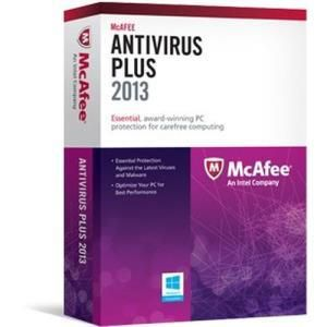 Mcafee AntiVirus Plus 2013