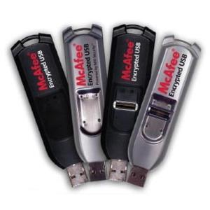 Mcafee Encrypted USB Standard 4 GB