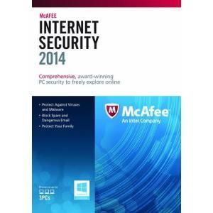 Mcafee Internet Security 2014 (3 PC)
