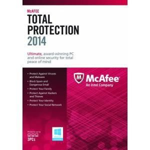 Mcafee Total Protection 2014 (3 PC)